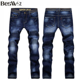 2016 Beswlz New Arrival Men Jeans Pants Casual Fashion Classical Denim Jeans Men Slim  Male Jeans 6128