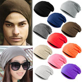 WJ Winter Bad Hair Day Warm Unisex Knitted Ski Crochet Slouchy Hat Cap for Women Men Beanies Hip Hop Hats Hot