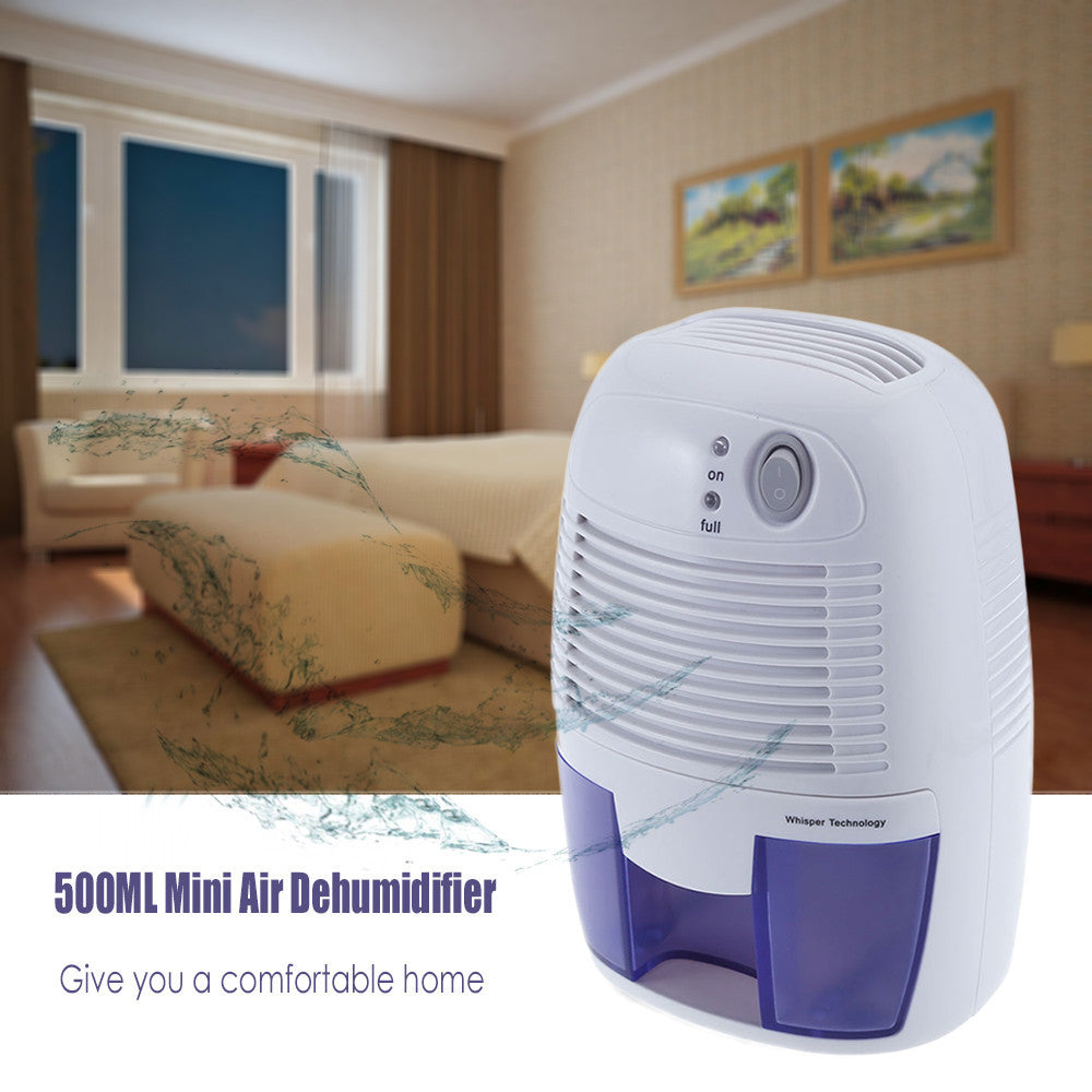 Hot Sale Portable Mini Dehumidifier 26W Electric Quiet Air Dryer 100V 220V Compatible Air Dehumidifier for Home Bathroom