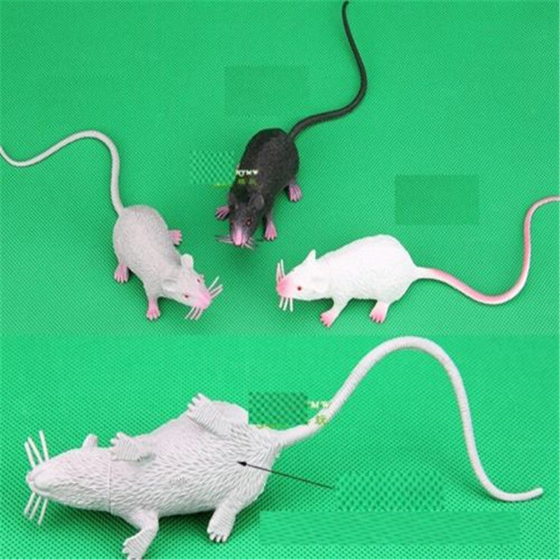 FD2876 new  Halloween X'mas Props Practical Joke Party Toy Simulation Mouse Mice 1pc