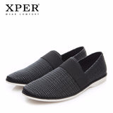 2018 XPER Fashion Men Casual Shoes Spring Summer Men Loafers Male Slip-on Flat Walking Shoes Soft Outdoor Footwear #XHY18020/21