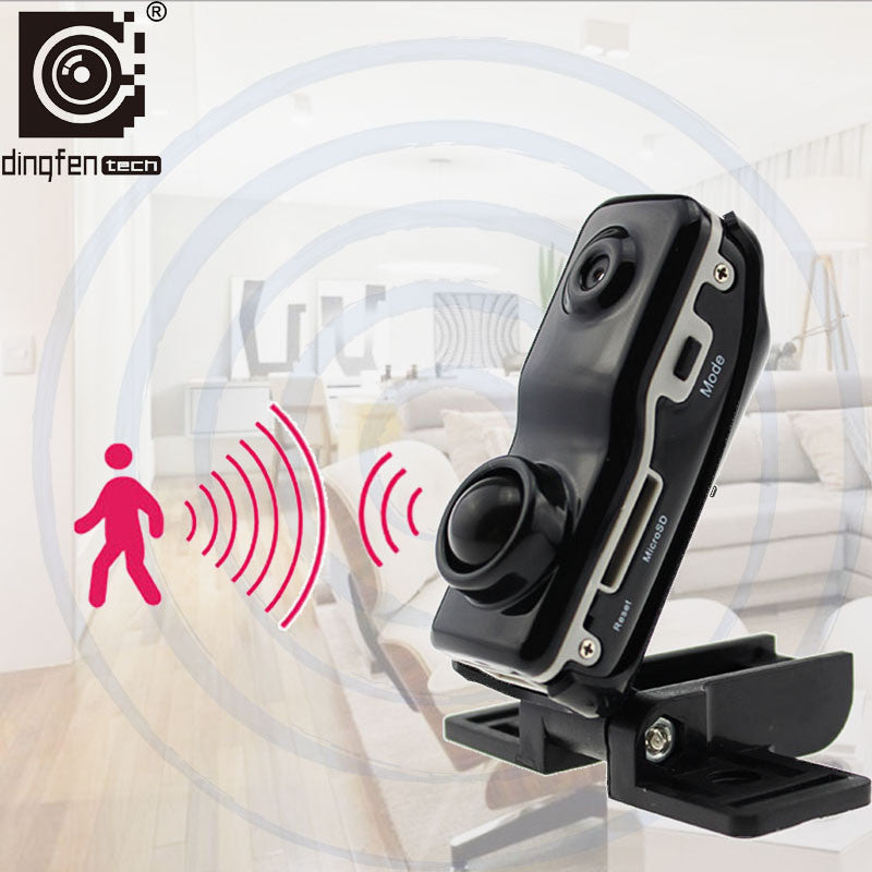 New Body Induction Camera Security Monitor DV DVR Hidden Spy Hoursing Video Recorder Small Design Digital Camcorder