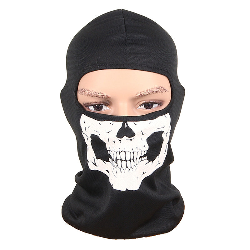 3D New Outdoor Sports Hunting Bicycle Cycling Skateboard Motorcycle Skull Ghost Ski Riding Hat Balaclava Protect Full Face Mask