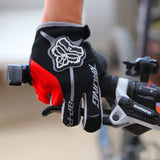 2016 New Autumn Winter Breathable MTB BMX Cycling Gloves 3D GEL Anti-slip Road Bike Gloves Anti-shock Full Finger Bicycle Gloves