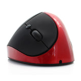 New Wireless Vertical Mouse Wireless Vertical Mice USB 2.0 Gaming Mouse Ergonomics  Vertical Mause with Built in Battery