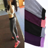 S-XL 4 Colors Women Fitness Leggings Fashion Workout Polyester Bodybuilding Fitness Clothing Elastic Leggings 9e 6a