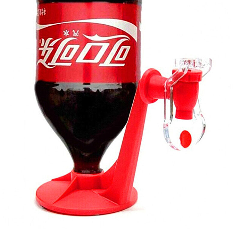 The Portable Tap Saver Soda Dispenser Bottle Coke Upside Down Drinking Water Dispense Party Bar  Kitchen Gadgets Drink Machines