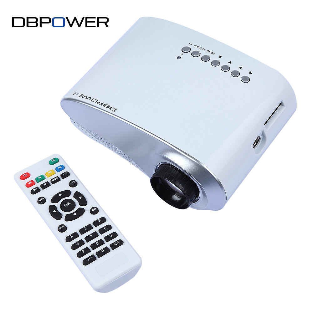 Mini LED Projector 1000:1 Hdmi 1080P HD Portable Pico proyectore Theater projetor TV VGA Games Video projecteur Beamer Projetor