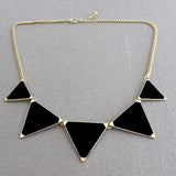 New Fashion Triangle Necklace Jewelery