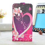 "High Quality Luxury PU Leather Case For Asus Zenfone Go ZB452KG 4.5"" Case Flip Phone Cover Painted Cartoon Protective Case"