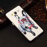 Ultra Thin Cartoon Cover For Samsung Galaxy Grand Prime G530 G5306 G530H G531H G531F G5308W Printing Plastic Back Phone Case