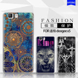Phone case For Doogee X5 5-inch Cute Cartoon High Quality Painted TPU Soft Phone Case Silicone Skin Back Cover Shell