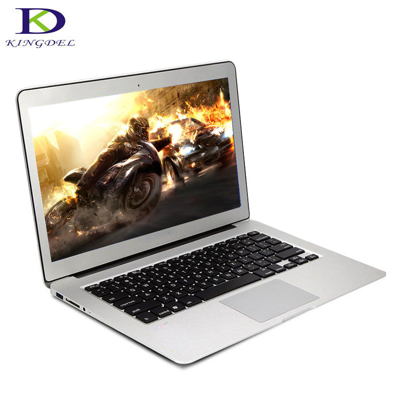 Kingdel Newest Core i7 6th Generation CPU 13.3 Inch Ultrabook Laptop Computer 8GB RAM 256GB SSD Webcam Wifi Bluetooth
