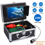 "MAOTEWANG Stainless Steel 1000tvl Underwater Fishing Video Camera Kit 6 PCS 1W LED  Fish Finde with 7"" Inch Color Monitor"