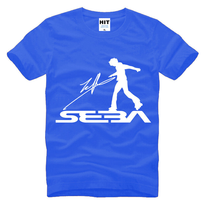 steetwear SEBA skating skateboard uniforms Mens Men T Shirt Tshirt Fashion 2015 Short Sleeve Cotton T-shirt Tee Camisetas Hombre