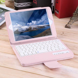 New Wireless Bluetooth Keyboard PU Leather Flip Case Cover For iPad Mini 2 3 4  Wholesale