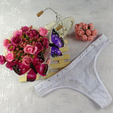 New Arrival Fashion Underpants Lady Women Sexy Lace V-string Briefs Panties Thongs G-string Lingerie Charming Underwear