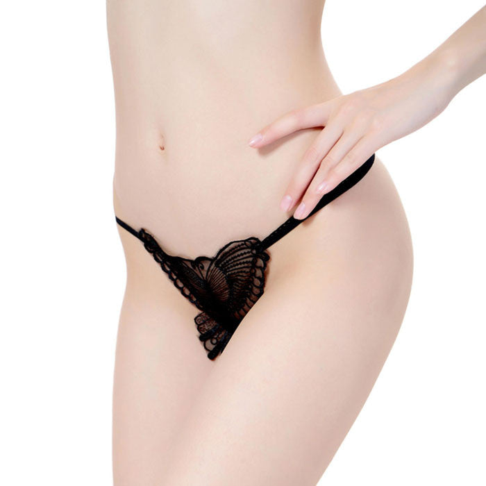 Feitong 2016 Women Lady Sexy Embroidery Panties Briefs Lingerie G-string Fashion Sexy Thongs G-string Lingerie Briefs For Women