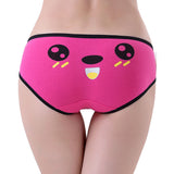 Feitong Hot Women Student Girls Invisible Cute Bear Underwear Thong Cotton Spandex Gas Seamless Crotch Panties 8 Colors