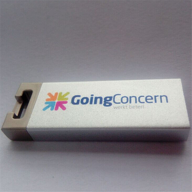 Metal Usb 2.0 Flash Pen Drive Mini Waterproof Stick Customs Logo ,Business U disk / Company Gift ( 30 pcs free logo )