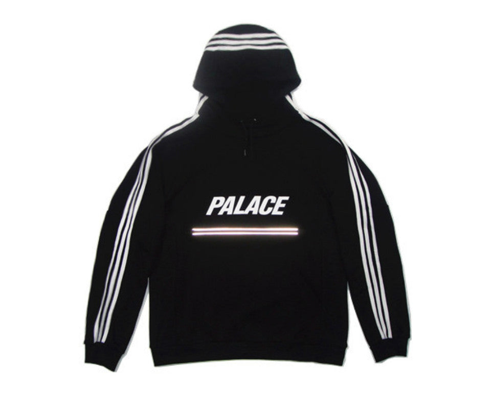 Palace Skateboards Hoodie Hip Hop TRACK TOP BLACK Harajuku Kanye West London Hoody Homme Palace Pullover Union Yeezy Sweatshirts