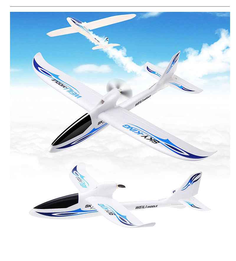 Wltoys F959 Sky King 3CH RC Airplane Push-speed glider Fixed Wing Plane VS WLtoys F929 F939 F949 BNF