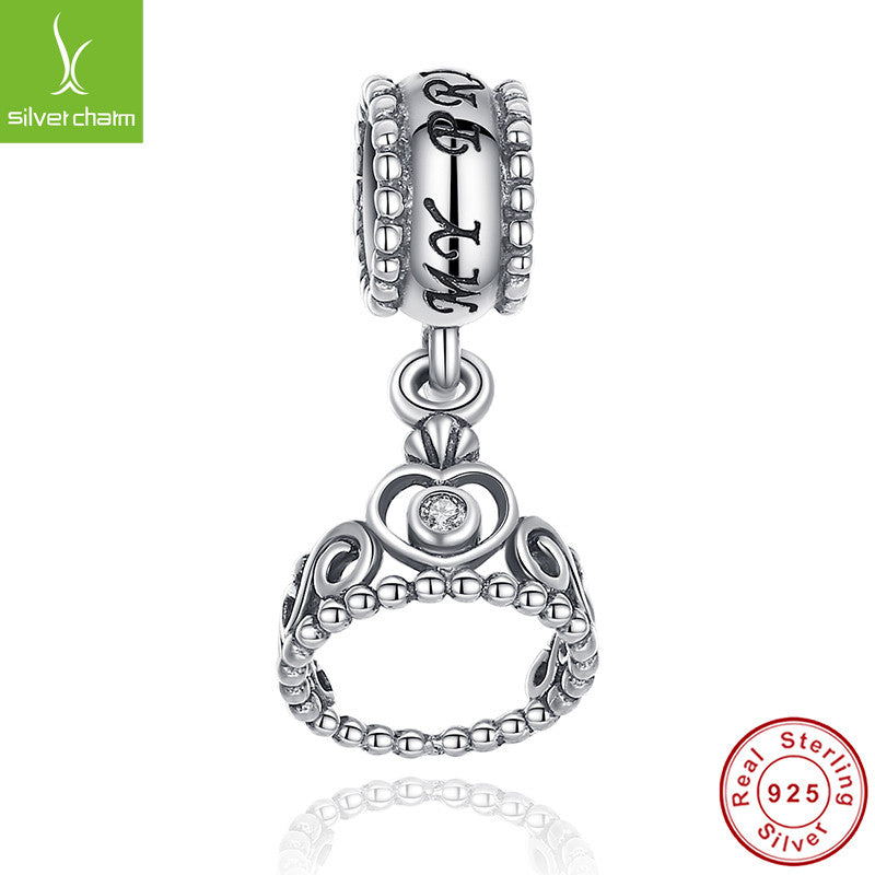 Hot Sale Genuine 100% 925 Sterling Silver Pendant Charm Beads Fit Original Pandora Bracelet Necklace Authentic Jewelry MUM Gift