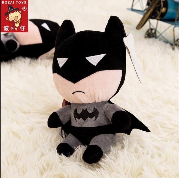 1pcs 18cm Batman plush toys Top Quality cheap Plush doll for children kawaii doll kids stiffed toy