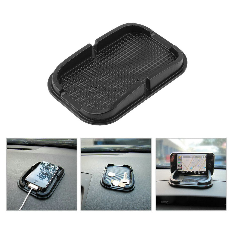 1pcs Black Car Dashboard Sticky Pad Mat Anti Non Slip Gadget Mobile Phone GPS Holder Stand Interior Items Accessories Hot 2016!!