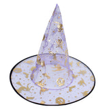 New Fashion Halloween Witch Hat Prop Magic Hat Halloween Party Supplies