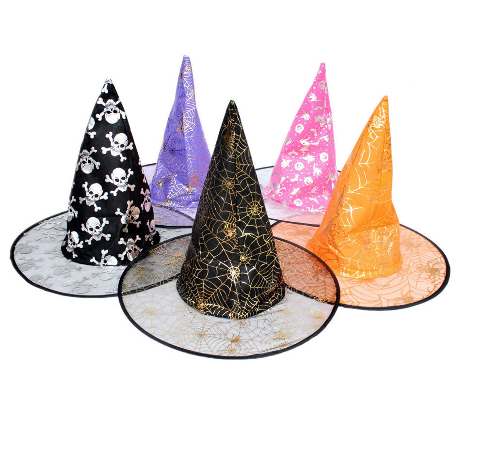 Fantastic Random color Witch Adult Women Hat For Halloween Costume Accessory Hot Sale Costume Party Props Free Shipping Au 18