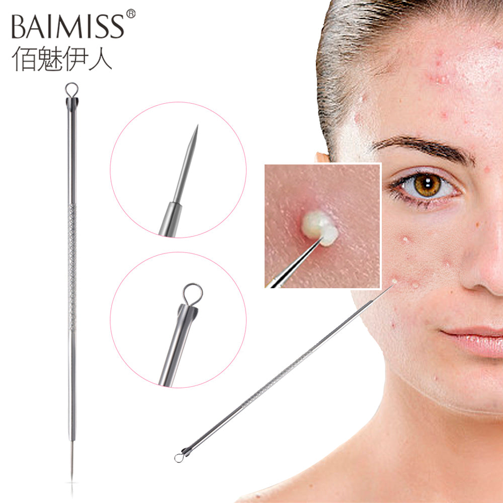 BAIMISS Acne Removal Needle Pimple Needle Blackhead Remover Acne Treatment Acne Needle Black Mask Acne Extractor Remover 1PCS