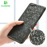 FLOVEME Luxury Mosaic Pattern Case For iPhone 7 Plus Ultra Thin Hard PC Phone Cases For iPhone 8 Plus 7 8 Back Cover Capinhas