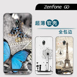 Phone case For Asus Zenfone GO ZC500TG Cute Cartoon High Quality Painted TPU Soft Phone Case Silicone Skin Back Cover Shell