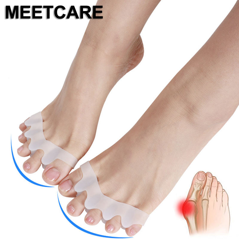5 Toes Brace Hallux Valgus Correction Overlapping Hammer Toe Separator Correction Foot Bone Orthotic Device Feet Care