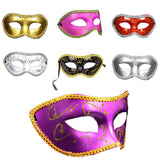 2016 Men Women Costume Prom Mask Venetian Mardi Gras Party Dance Masquerade Ball Halloween Mask Fancy Dress Costume