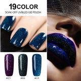 Paraness Long Lasting Starry Sky Gel Varnish Soak Off UV Gel Nail Polish UV LED Lamp Hybrid Colorful Neon Lucky Gel Lacquer
