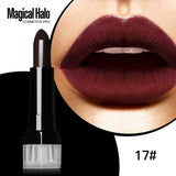 Professional liquid matte lipstick palette long lasting  Colors baton mate channel ny tint Lip Gloss Stick brand makeup lipstick