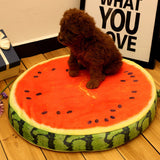 3 Color Cotton Summer/Autumn Fruit /Animal /Cartoon Pet Beds Soft Dogs Mats for Small/Medium/Large Dog Bed Pet Supplies