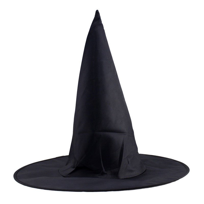 2016 Cool Adult Women Black Witch Hat Halloween Costume Accessory Party Props