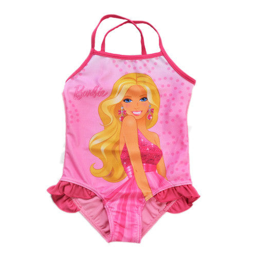 2016 Newest Lovely Children Baby Girls Mermaid Tail Princess Bath Split Swimsuit Costume Swimsuit Bikini Set Dress Age 3-10Y