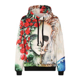 New Fashion Men Women Hooded hoodies With Cap Sports Tracksuits American Flag Space Galaxy 3d Print Sweatshirts With Pockets