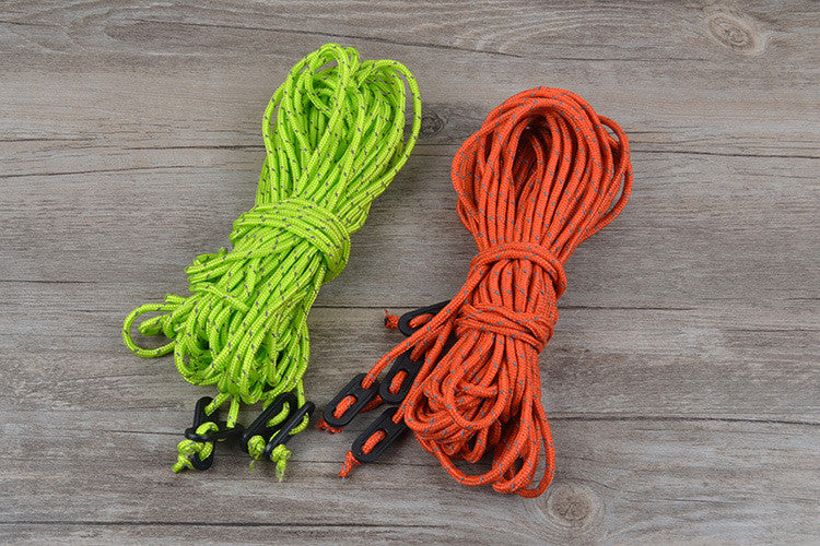 Glance outdoor tent rope Awning pull a noose Wind fixed rope