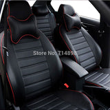 auto seat covers leather pu custom fitted for changan benni alsvin V3 V5 CX20 CX30 CS35 car interior accessoires seat cover car