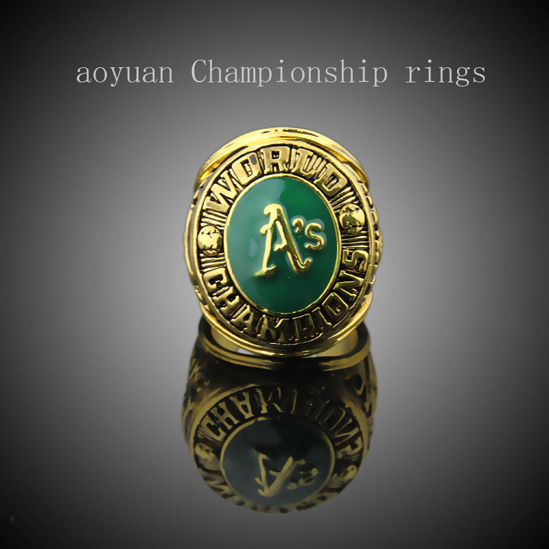 aoyuan Championship rings,1974 Oakland athletics world series ml B championship ring, sports fans rings, men gift ring.