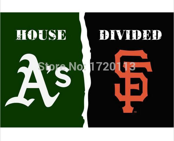 3x5 ft Oakland Athletics VS San Francisco Giants flag 100D polyester digital printed banner