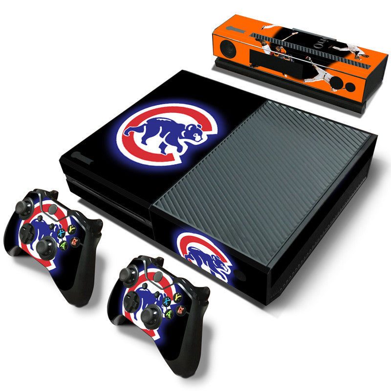 Baltimore Orioles Oakland Athletics Tampa BayRays Baseball Vinyl MLB Sticker FOR Xbox one Console