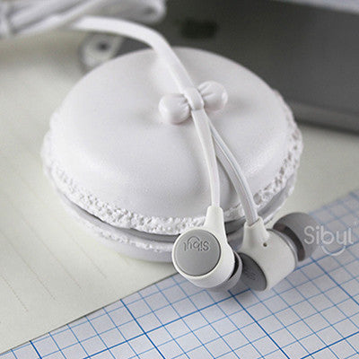 Original M85 Macarons In-Ear Earphone Stereo Bass Headset fone de ouvido ecouteur Earbuds Handsfree for MP3 MP4