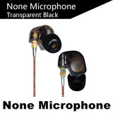 KZ ATE Copper Driver Ear Hook HiFi In Ear Earphone Sport Headphones For Running With Foam Eartips With Microphone