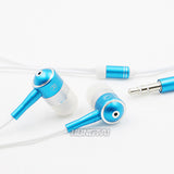 High quality 3.5mm Earphone Headset with Earbud music for earpods iPhone HTC Smartphone MP3 headphones Stereo In-ear Earphones